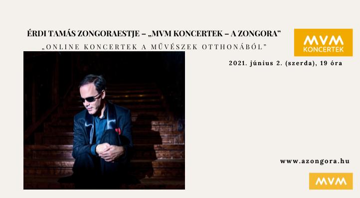 "Érdi Tamás zongoraestje (felvételről) – ""MVM Koncertek – A Zongora"""
