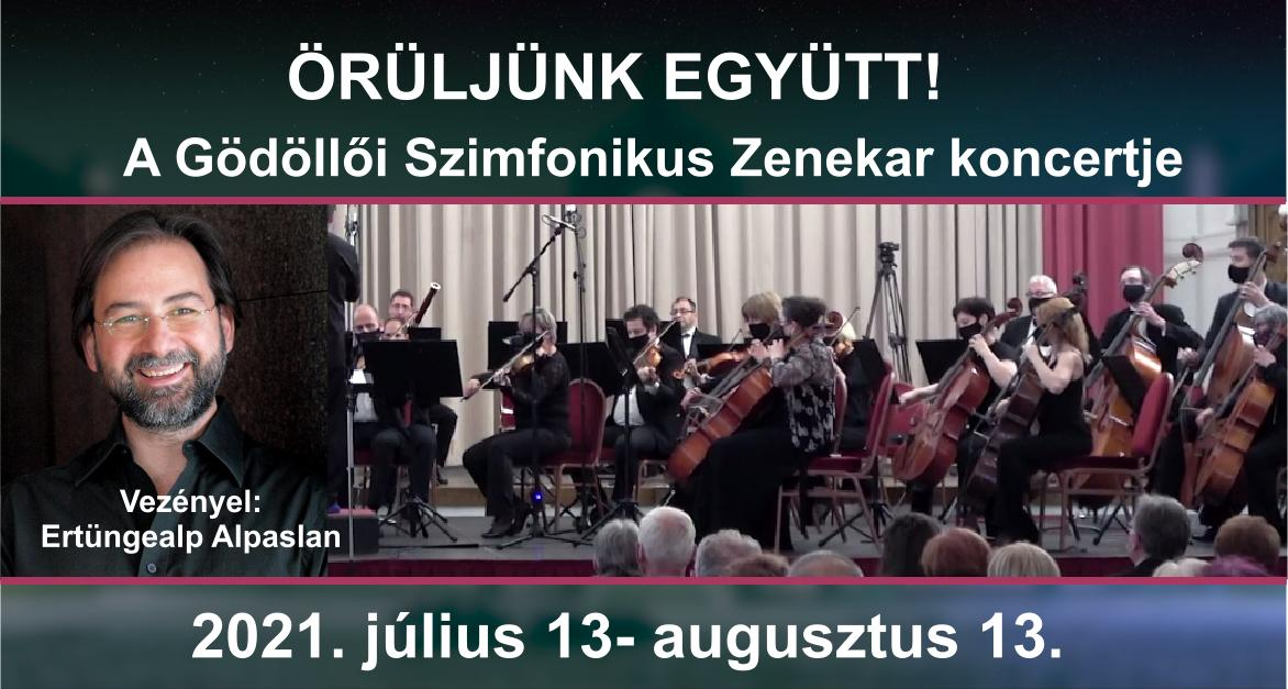 Örüljünk együtt! - A Gödöllői Szimfonikus Zenekar Online koncertje