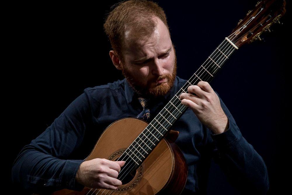 Budapesti Nemzetközi Gitárfesztivál és Verseny 2021. / MARKO TOPCHII gitárművész (Ukrajna)