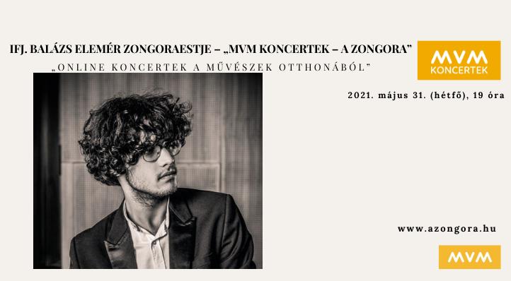 """ifj. Balázs Elemér zongoraestje – """"MVM Koncertek – A Zongora"""" – Balázs-bérlet 1."""