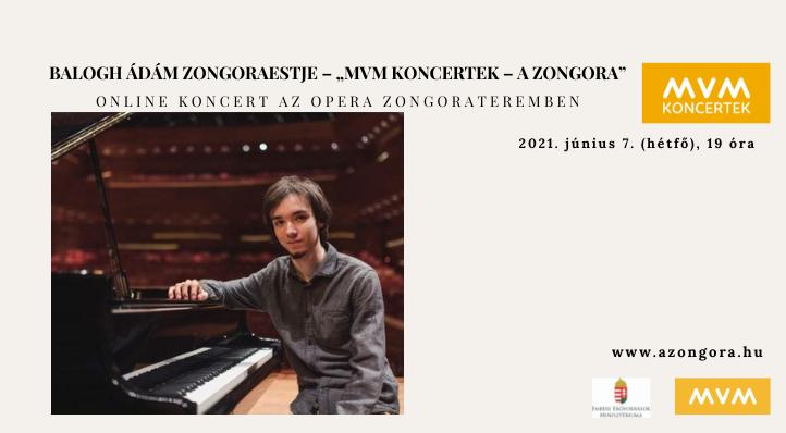 """Balogh Ádám zongoraestje (felvételről) – """"MVM Koncertek – A Zongora"""""""