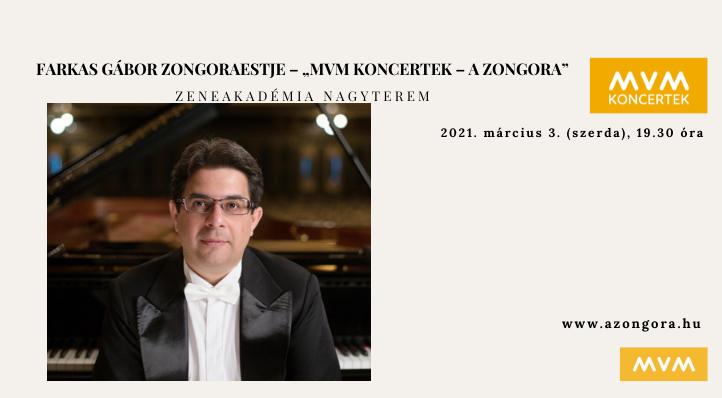 Farkas Gábor zongoraestje a Zeneakadémián (felvételről)– MVM Koncertek