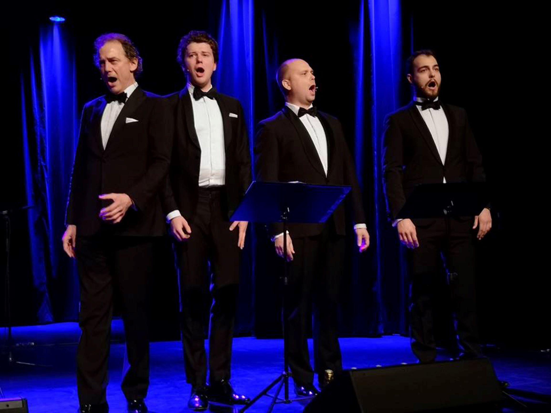 De 4 Operettetenorer med band