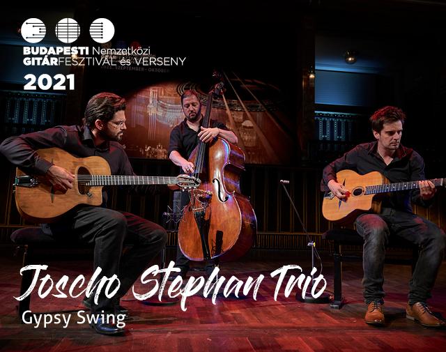Budapesti Nemzetközi Gitárfesztivál és Verseny 2021. / JOSCHO STEPHAN TRIO (Németország) Gypsy Swing