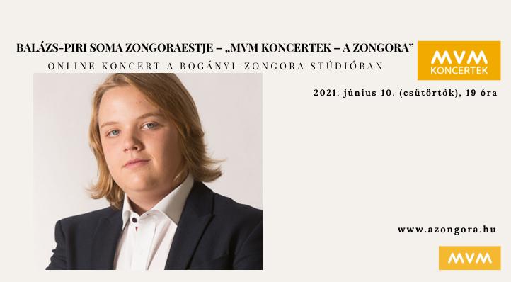 """Balázs-Piri Soma zongoraestje – """"MVM Koncertek – A Zongora"""" – Balázs-bérlet 2."""